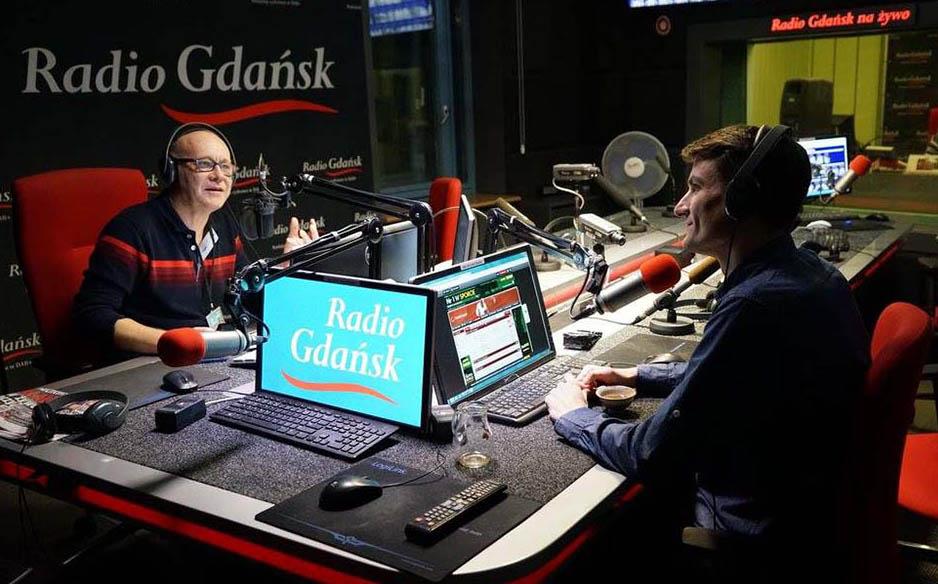 Audycja na temat herbaty w Radiu Gdańsk