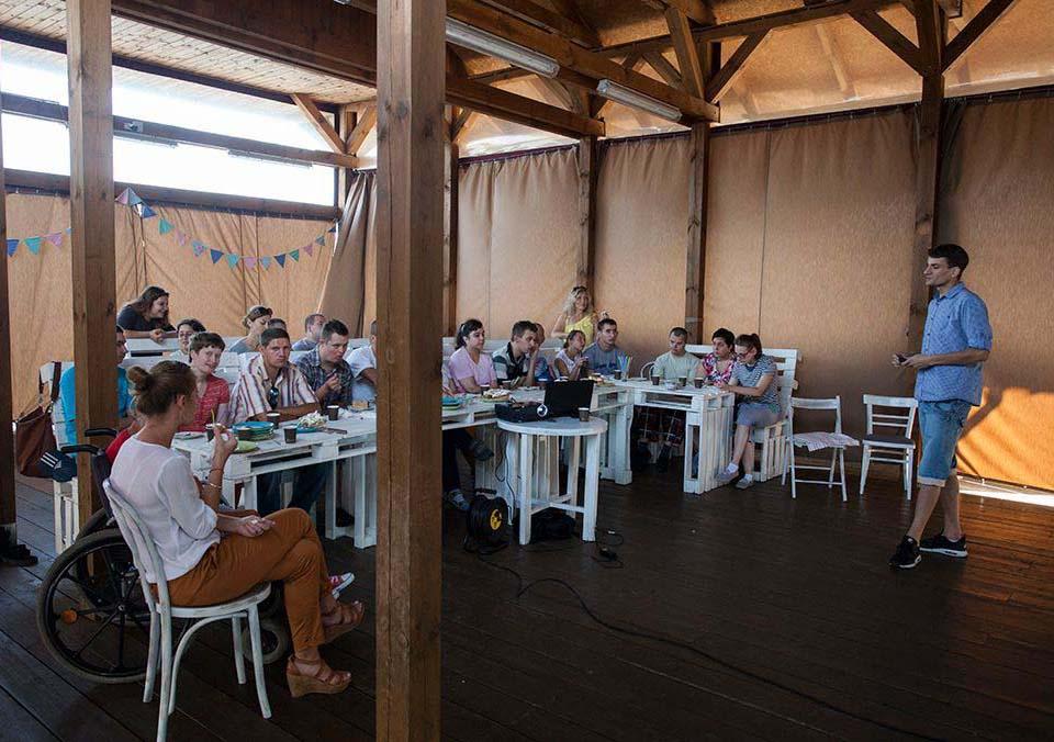 Wykład o herbacie w dla Warsztatów Terapii Zajęciowej w Sępólnie
