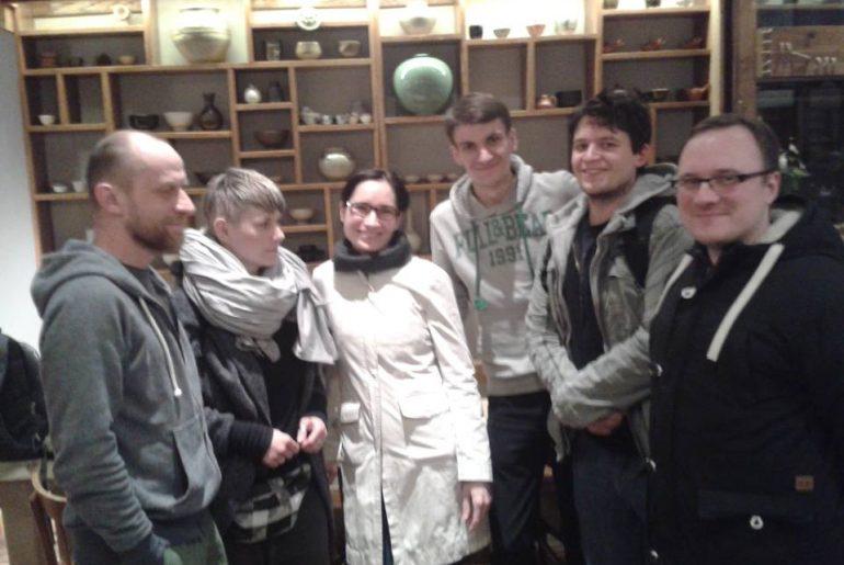 Warszawski Kolektyw Herbaciany w koreańskiej restauracji Onggi w Warszawie