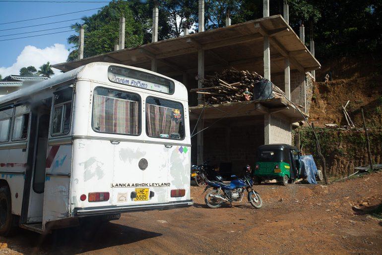 Autobus na Sri Lance