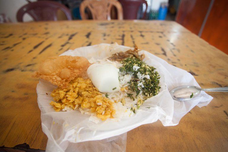 Obiad na Sri Lance