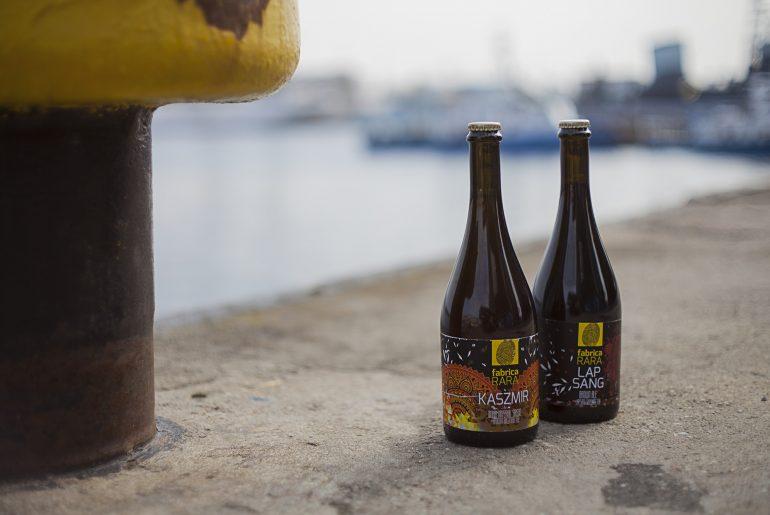 Piwa na bazie herbaty niedaleko portu w Gdyni.