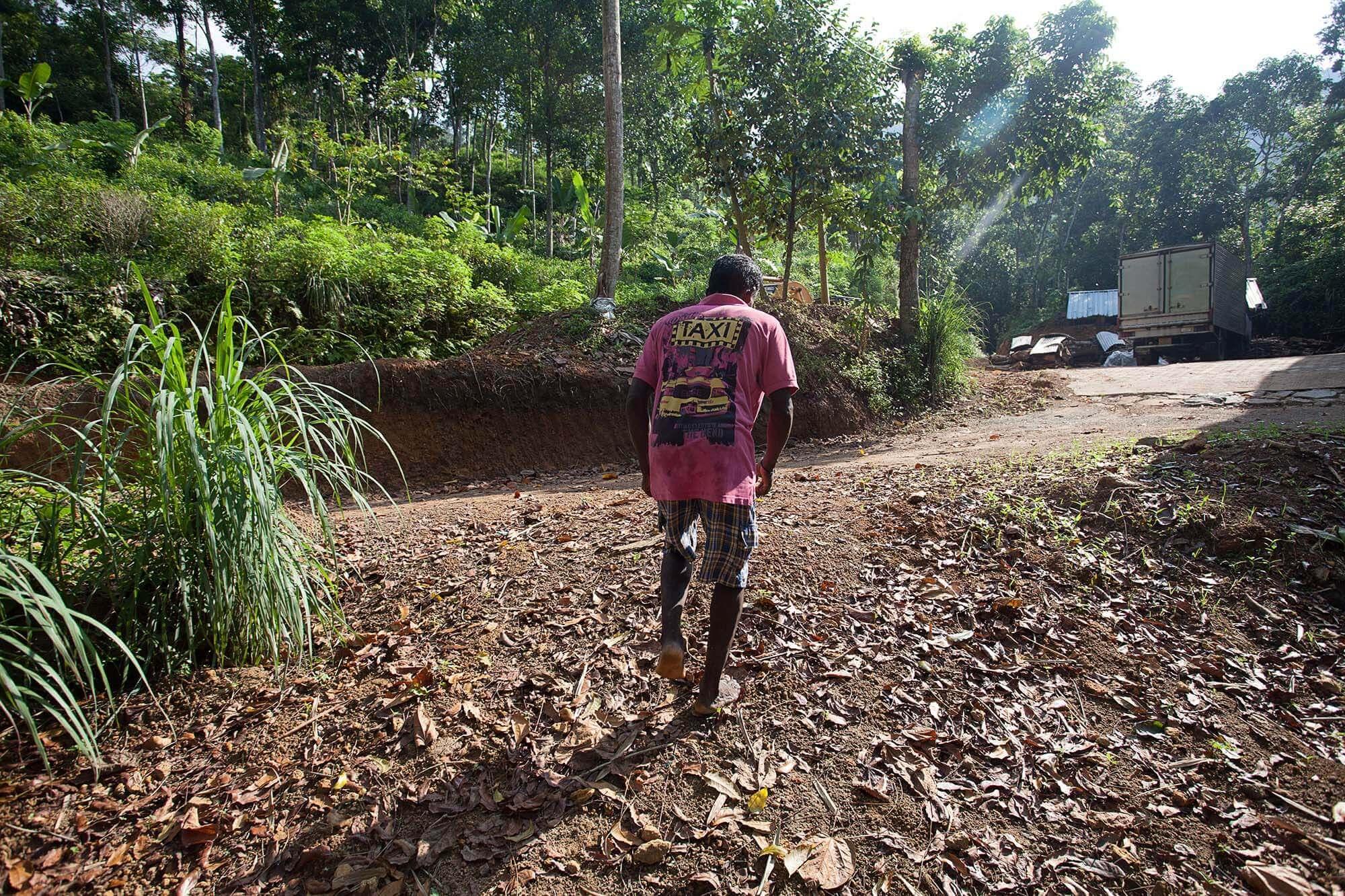 Wybierając się w góry, gdzie rośnie herbata na Sri Lance, warto pamiętać o przewodniku.