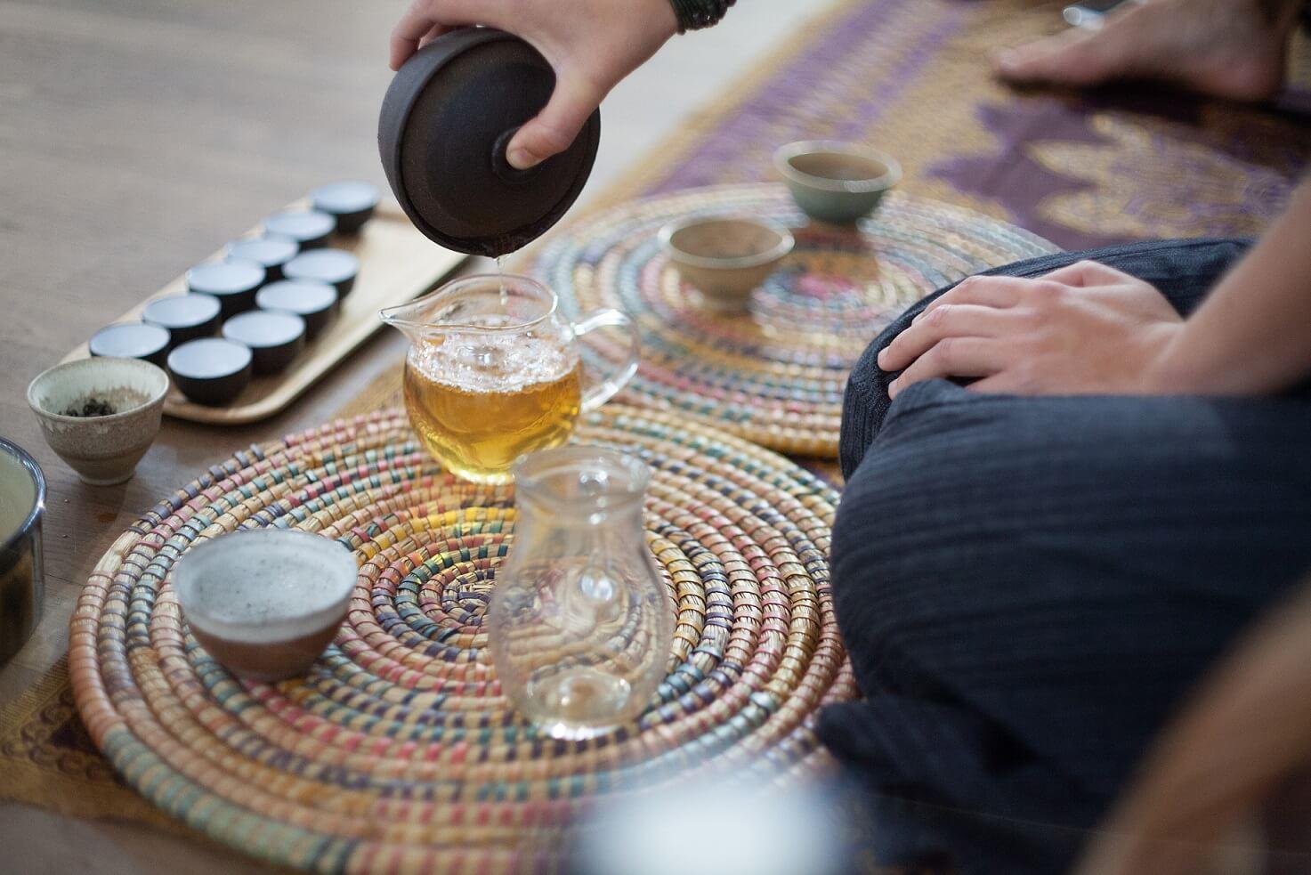 Poznański Festiwal Herbaty Zaparzaj, parzenie herbaty nepalskiej